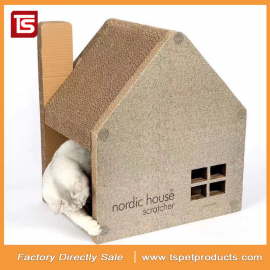 TS Factory direct sale corrugated cat house
